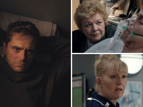 Casualty review with spoilers: Iain is saved by an X-ray