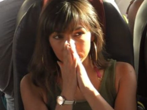 Roxanne Pallett nearly voms on Celebrity Coach Trip as Big Narstie drops horrific fart on the bus