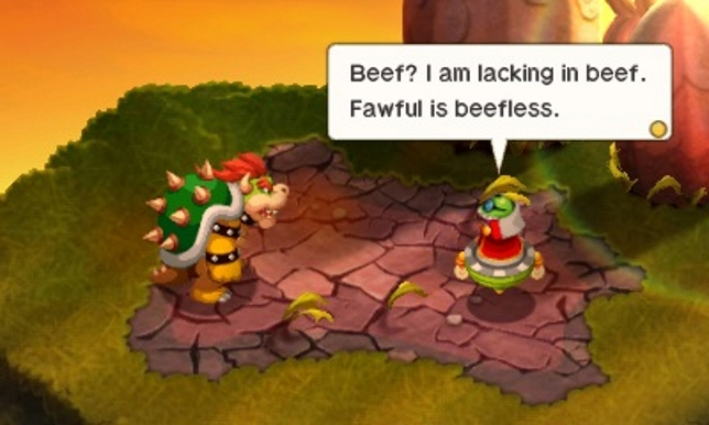 Mario & Luigi Bowser's Inside Story + Bowser Jr.'s Journey (3DS) - Fawful is a funny guy