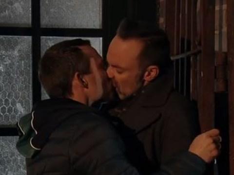 Coronation Street star Daniel Brocklebank hits back at 'homophobic' troll who called for 'warning' before two men kiss on screen
