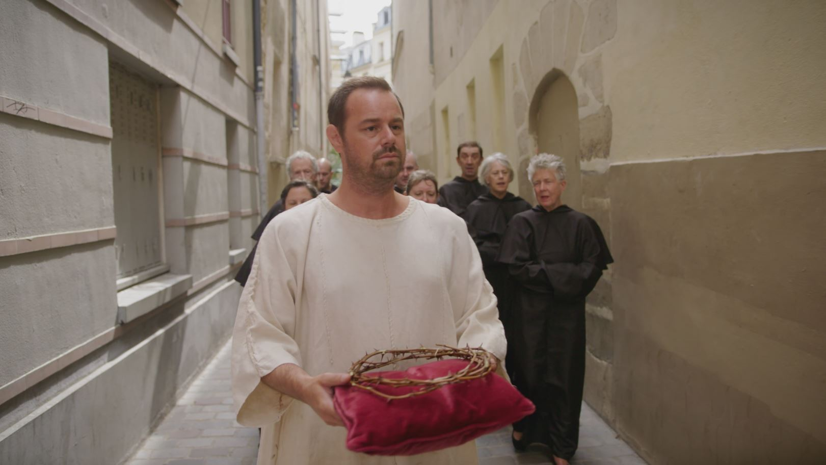 EastEnders star Danny Dyer is related to an actual Saint