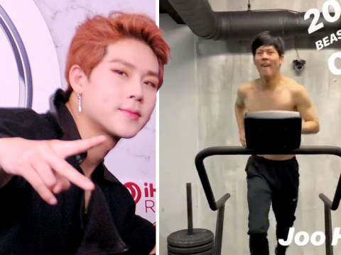 Monsta X's Jooheon has black hair now and we're freaking out