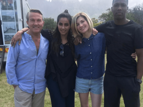Doctor Who posts first series 12 behind the scenes snap of Jodie Whittaker as gang reunite