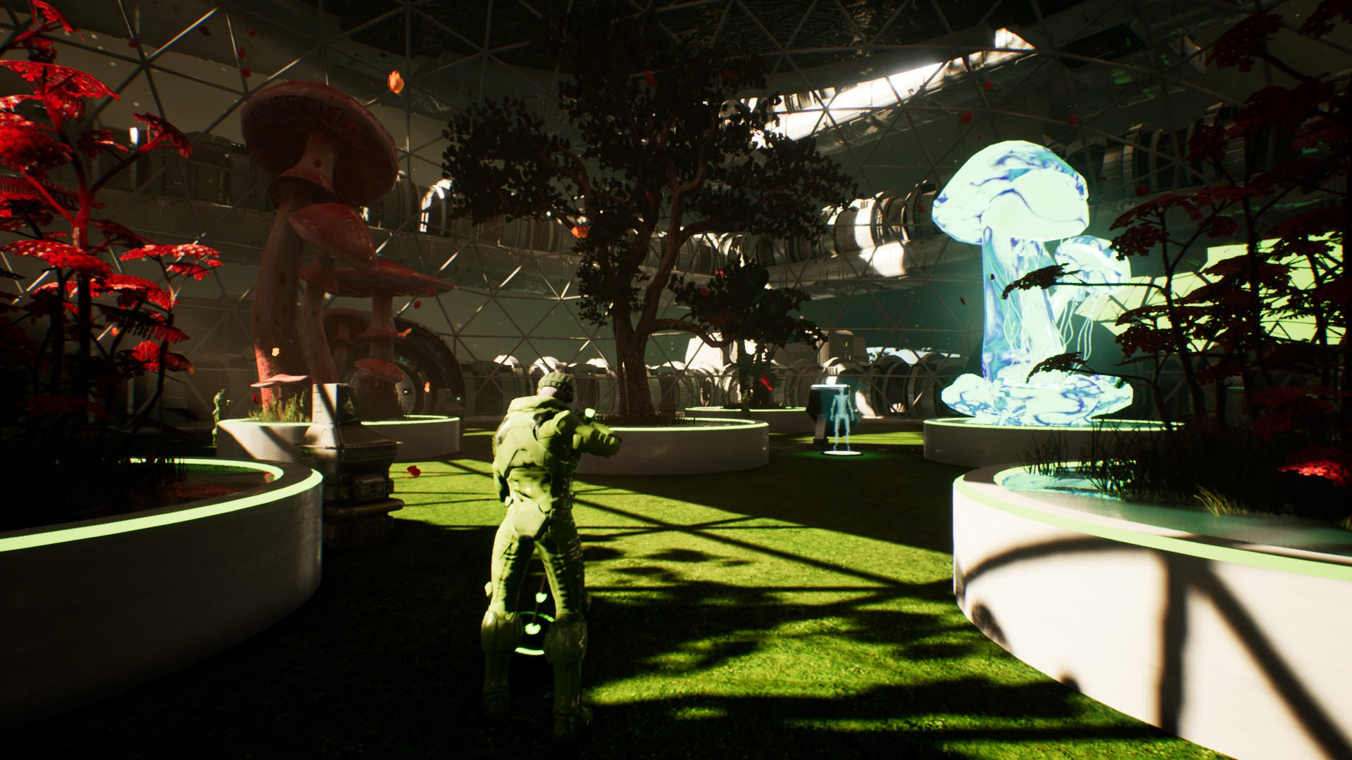 Genesis Alpha One (PS4) - greenhouses in space