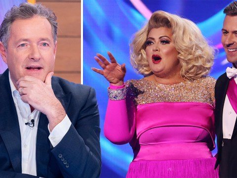 Piers Morgan declares himself 'team Gemma Collins' and vows to back her over Dancing on Ice 'big gob' Jason Gardiner