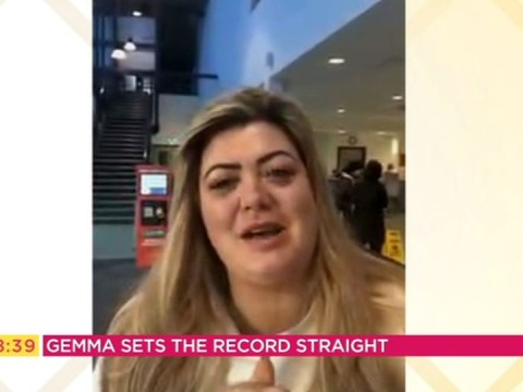 'It's blade wars': Gemma Collins confirms backstage Dancing on Ice tension and blames celebrity rival for 'quit' rumours