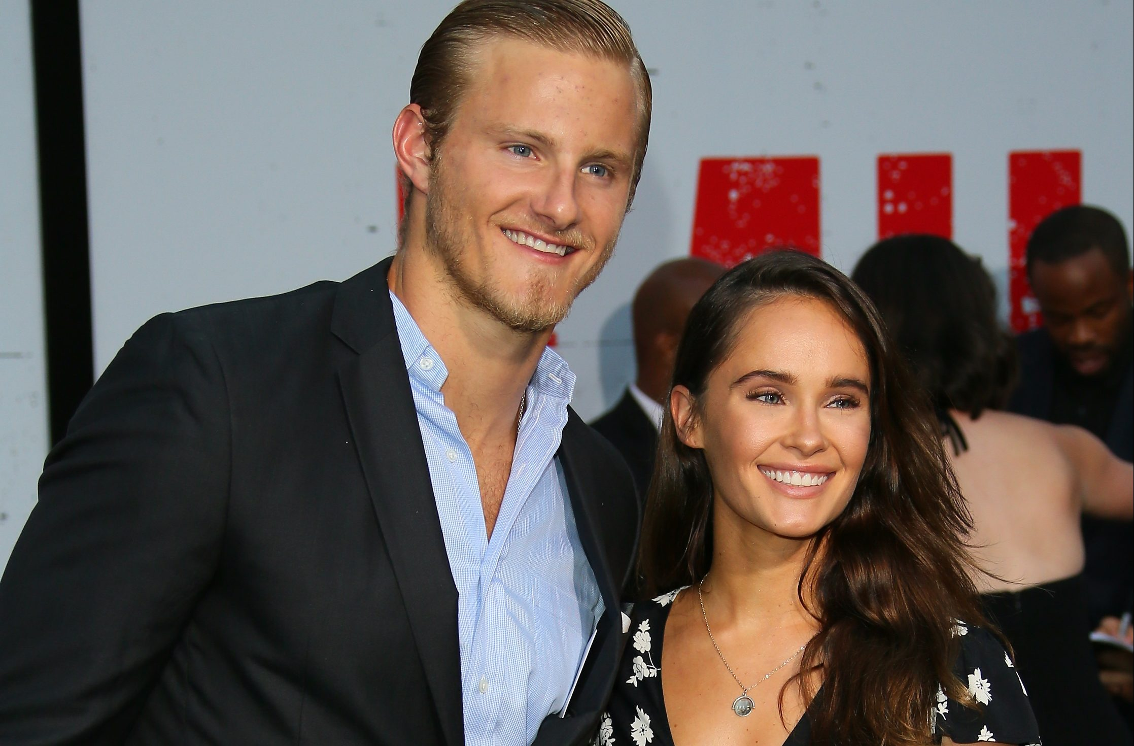Vikings' Alexander Ludwig melts hearts as he swoons over co-star girlfriend Kristy Dinsmore