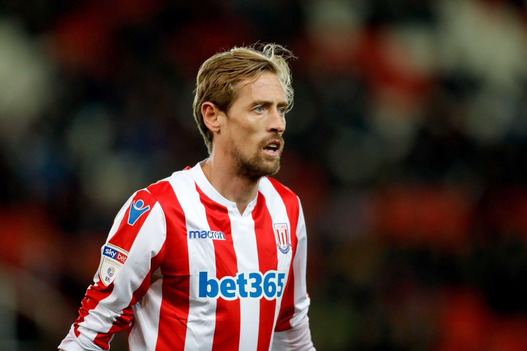 Peter Crouch could be set for a shock Premier League return in Burnley swap deal
