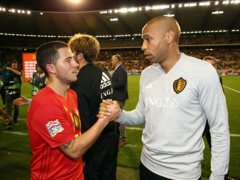 Eden Hazard backs Thierry Henry to bounce back after being suspended by Monaco