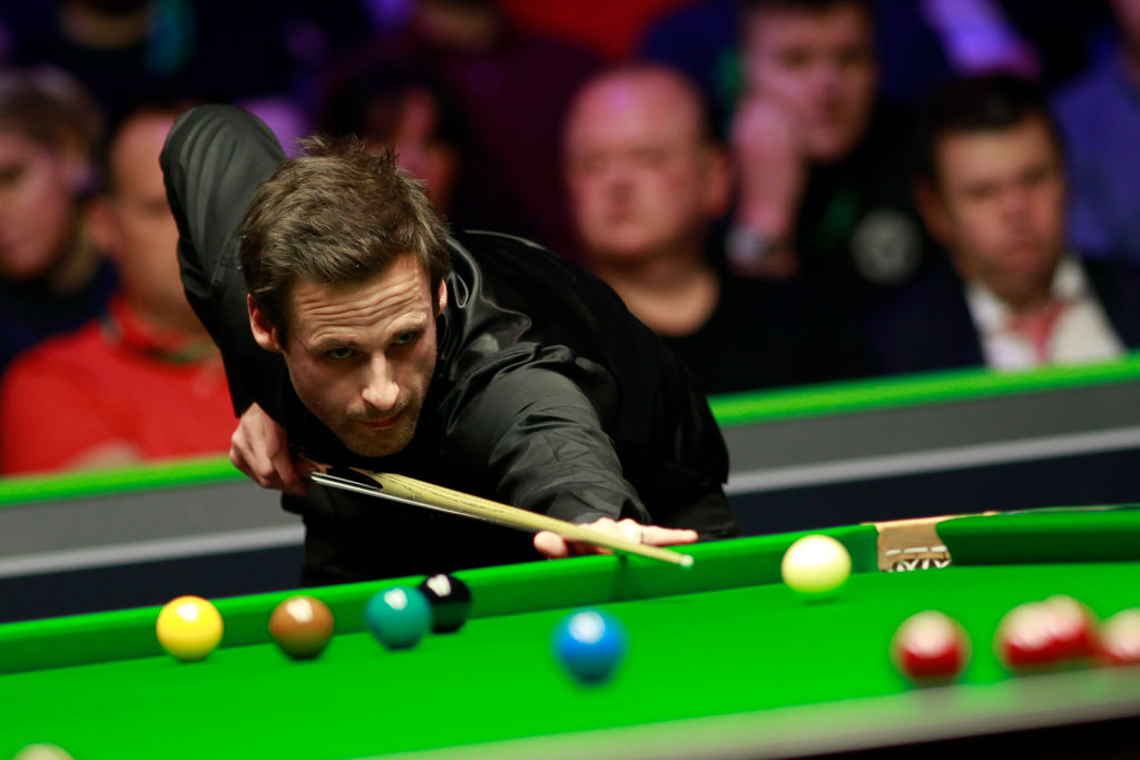 David Gilbert hits the 147th maximum break in snooker history at Championship League