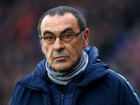 Maurizio Sarri angry with Andreas Christensen for leaving Chelsea bench during Arsenal defeat
