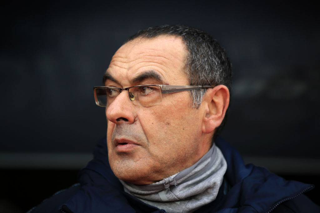 Maurizio Sarri still 'waiting' on new Chelsea midfield signing after Cesc Fabregas transfer exit