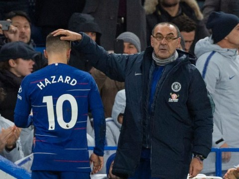 Gianfranco Zola lifts the lid on relationship between Eden Hazard and Chelsea manager Maurizio Sarri