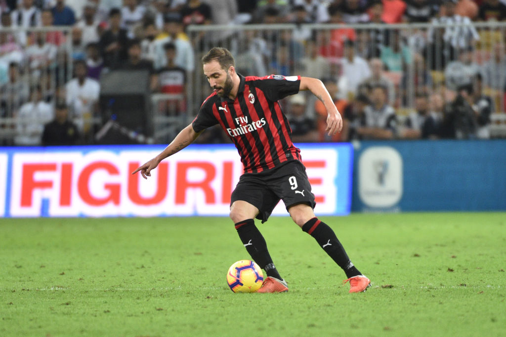 Gennaro Gattuso says Gonzalo Higuain squad omission due to Chelsea transfer speculation