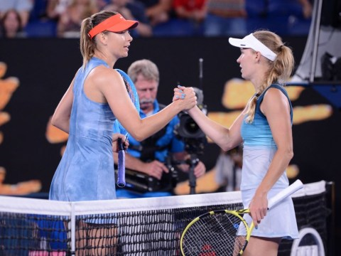 Caroline Wozniacki gives details of her relationship with Maria Sharapova after Australian Open exit
