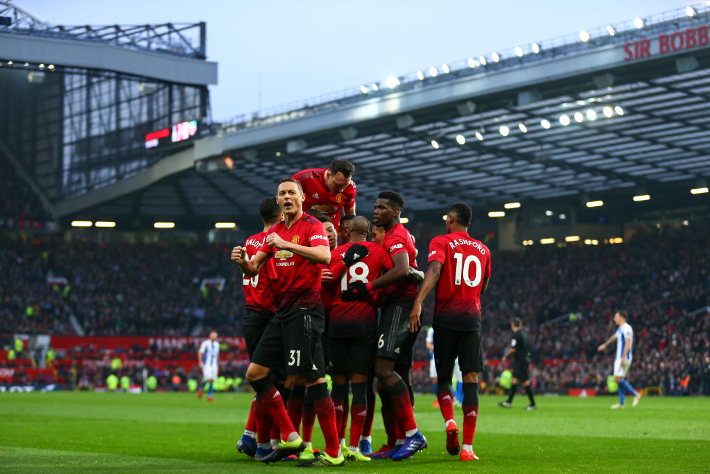 Ole Gunnar Solskjaer equals Pep Guardiola record as Manchester United beat Brighton