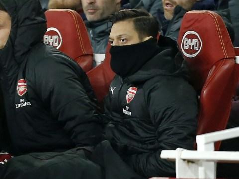 Unai Emery reveals what he told Mesut Ozil before snubbing Arsenal midfielder against Chelsea