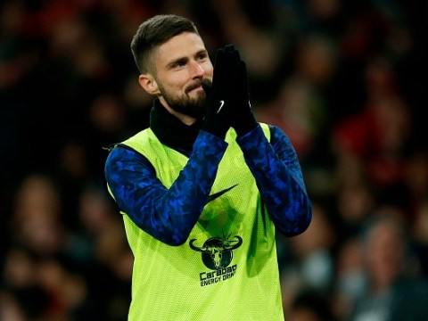 West Ham contact Chelsea to discuss January move for striker Olivier Giroud