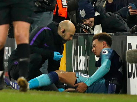 Dele Alli set to miss at least nine Tottenham matches after sustaining hamstring injury