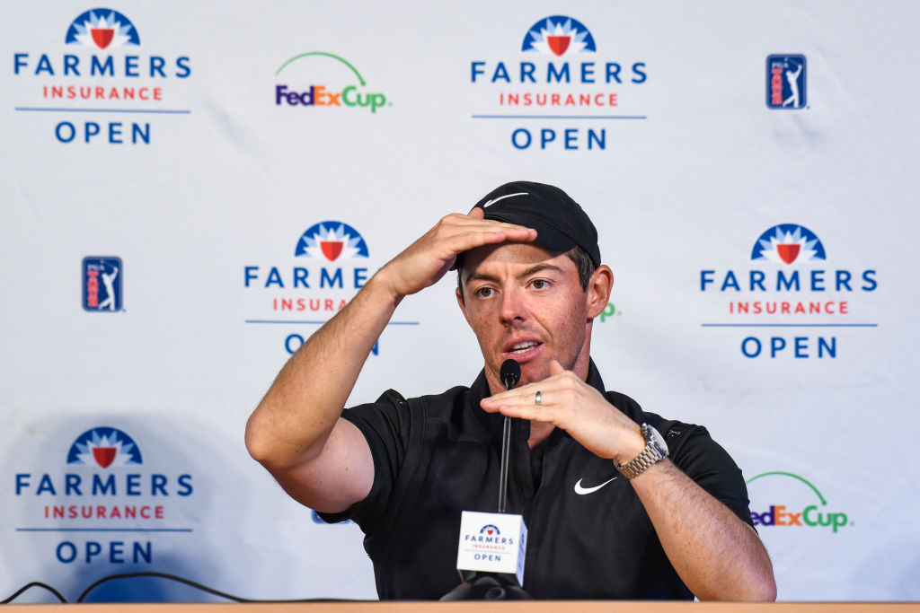 Rory McIlroy criticises decision to hand Ho-Sung Choi Farmers Insurance Open invite