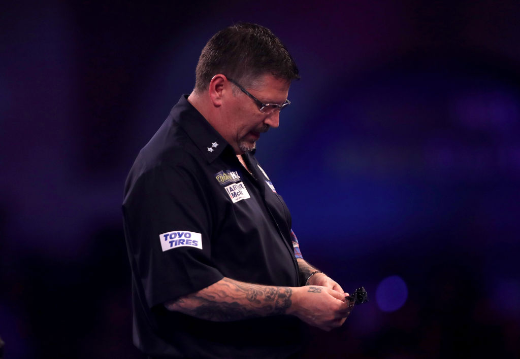 Gary Anderson: 'My back has been so bad I couldn't go for double tops'