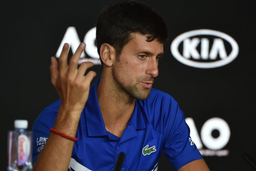 Novak Djokovic on chasing Roger Federer's record and a calendar Grand Slam