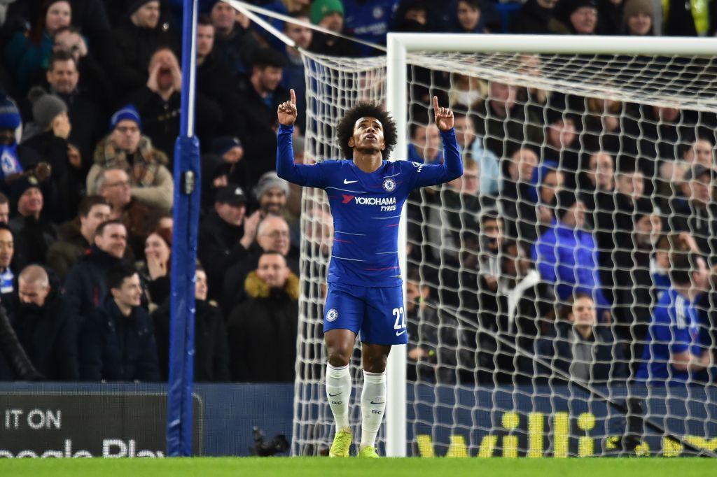 Paris Saint-Germain plot transfer move for Chelsea star Willian on deadline day