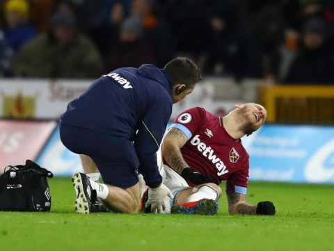 West Ham boss Manuel Pellegrini says Marko Arnautovic injury 'will not be easy'