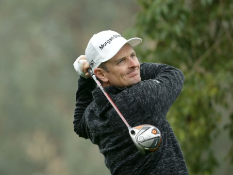 Justin Rose left frustrated after playing his first round with new clubs at the Desert Classic