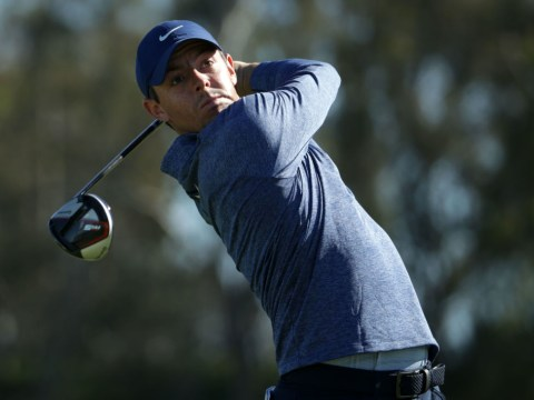 Rory McIlroy reacts to brilliant second round at the PGA Tour's Farmers Insurance Open