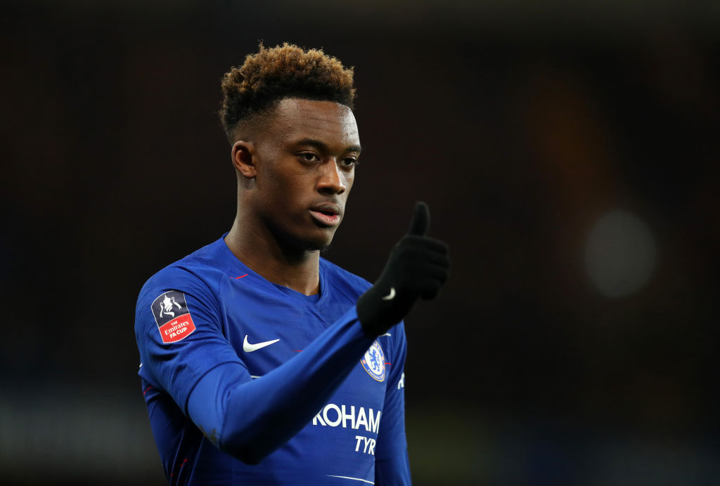 Maurizio Sarri calls on Callum Hudson-Odoi to 'respect' Chelsea following transfer request