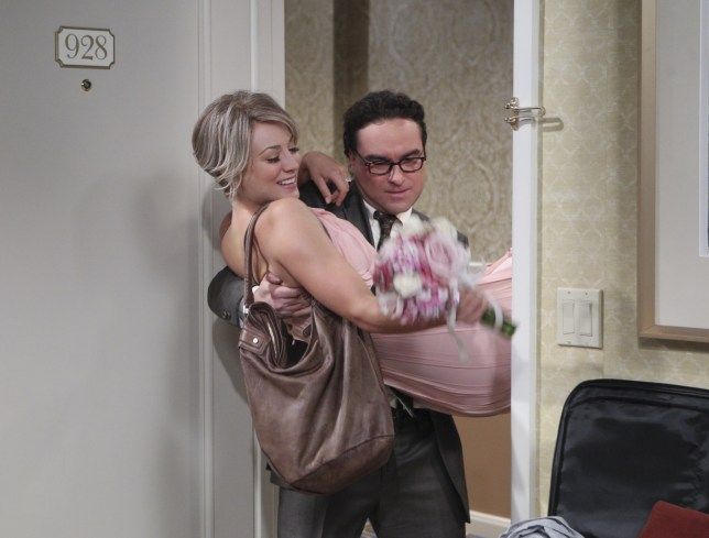 Leonard Penny Johnny Galecki kaley Cuoco