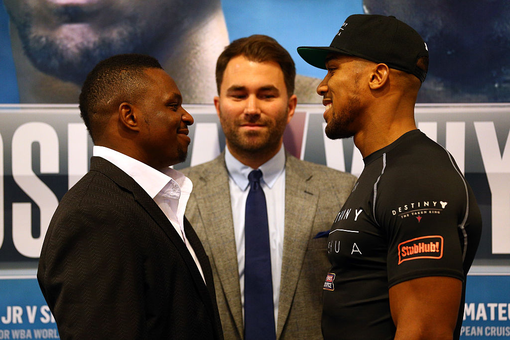 Dillian Whyte confirms he is willing to replace Jarrell Miller in fight against Anthony Joshua