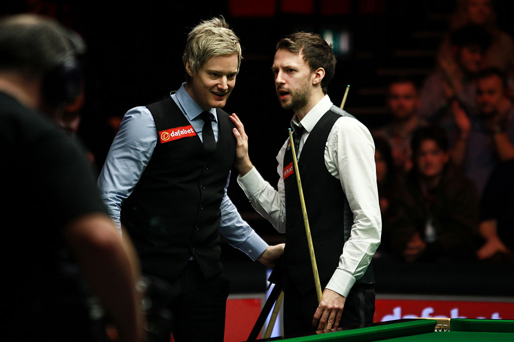 Neil Robertson recalls 'one of the best matches ever' against Judd Trump at the Masters