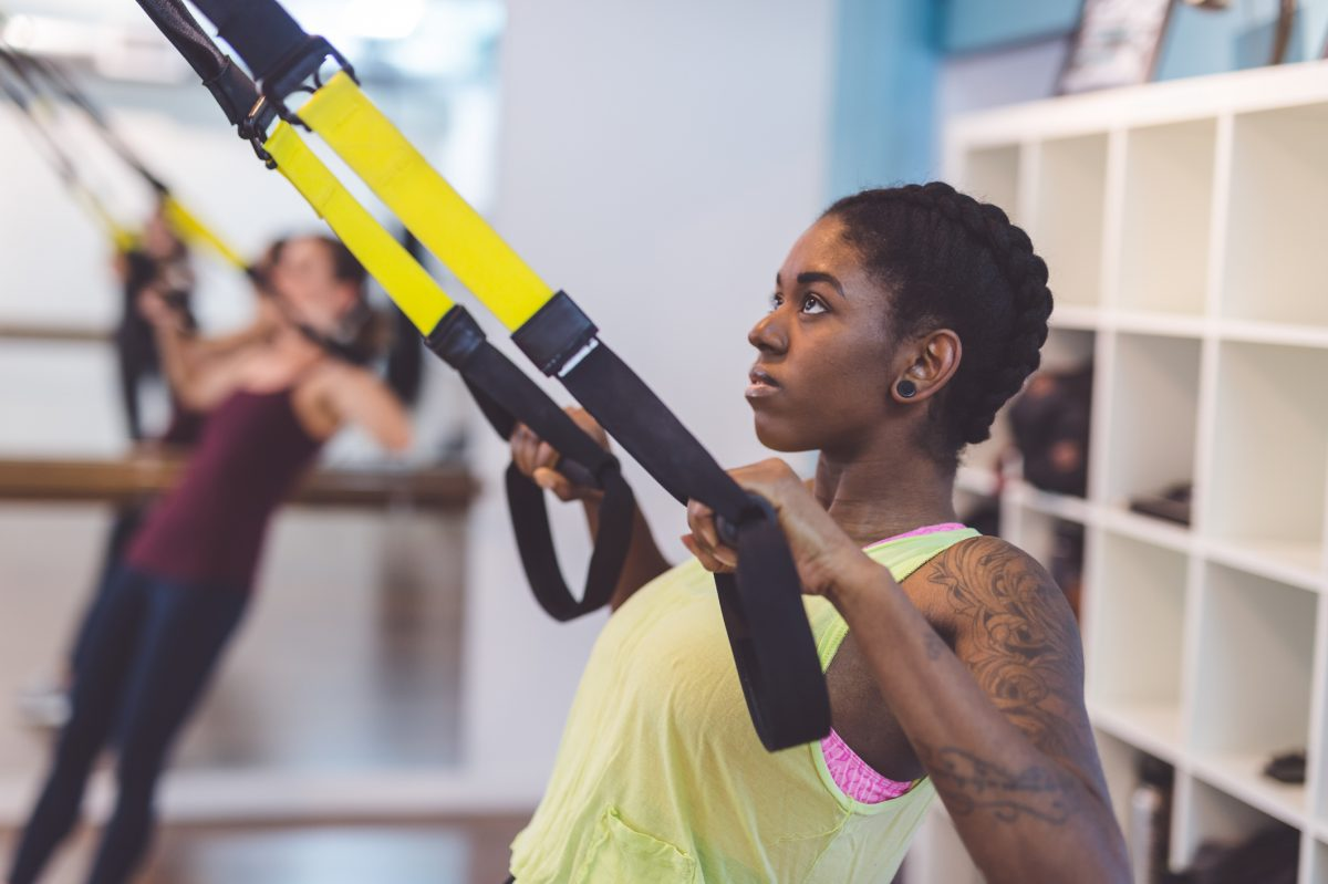 TRX suspension training might be the toughest thing you can do in the gym
