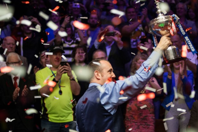 Mark Williams wins 2018 Snooker World Championship