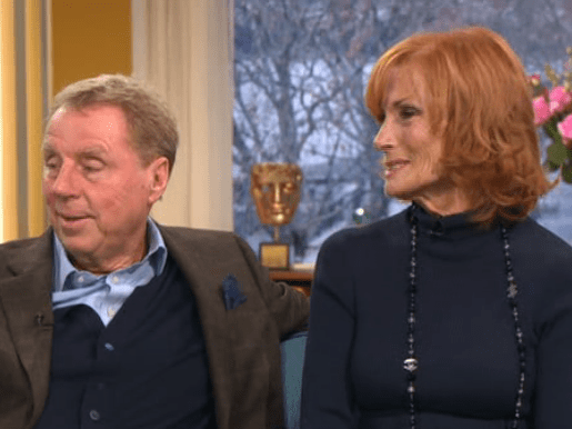 How long has Harry Redknapp been married to his wife Sandra and how old are they?