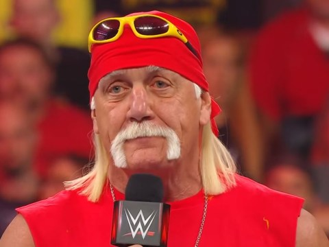 WWE's Hulk Hogan ditches iconic look in rare out of character photo with Wild Samoans