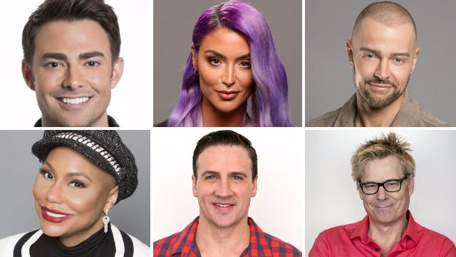 How can you watch Celebrity Big Brother USA in the UK and who is in the cast?