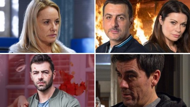 New soap spoilers as Mel escapes EastEnders, a Coronation Street fire horrifies Peter, Sylver is shot in Hollyoaks and Cain wants to kill Graham in Emmerdale