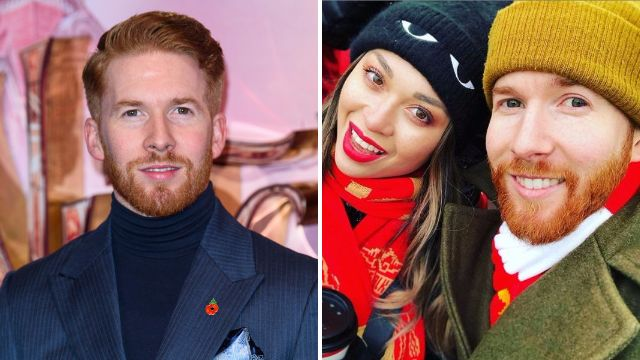 Neil Jones cosies up with Katya as they miss Strictly Come Dancing tour launch