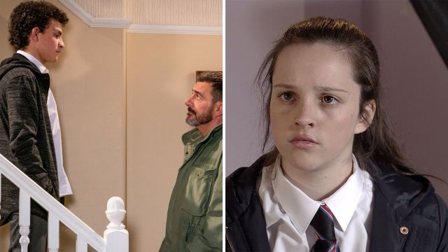 Amy barlow and simon barlow in coronation street