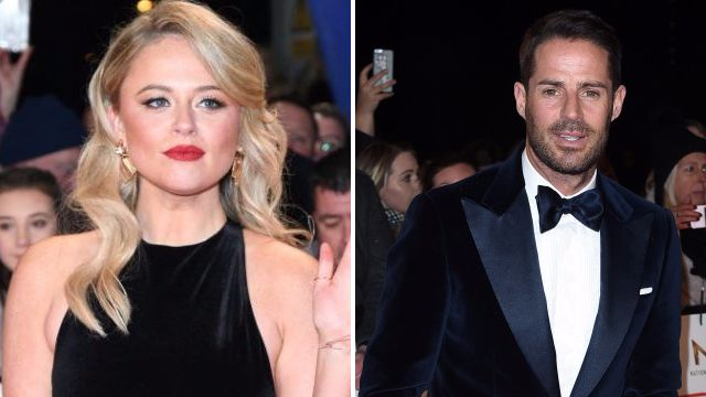 Emily Atack soaks up liquid courage before making beeline for Jamie Redknapp at National Television Awards