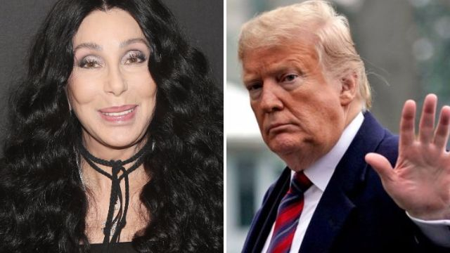 Cher claims 'no one is really safe in Trump's America' unless they're white or wearing MAGA hats