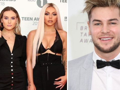 Little Mix's Perrie Edwards grilled over Jesy Nelson and Chris Hughes' kebab kiss