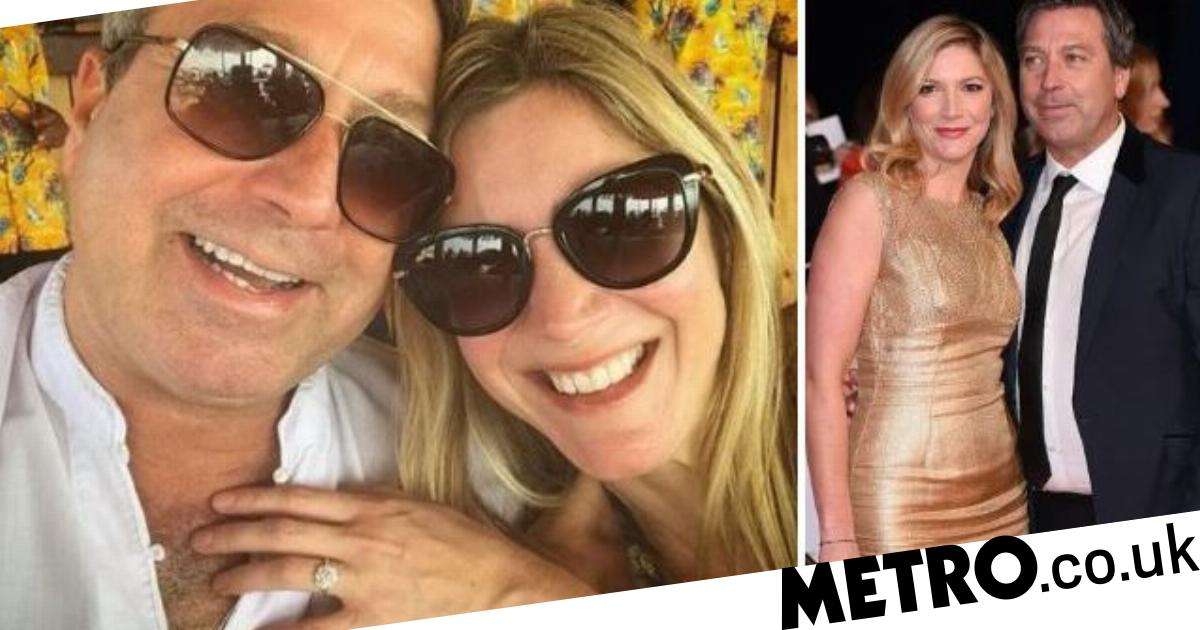 MasterChef couple Lisa Faulkner and John Torode engaged after six years together