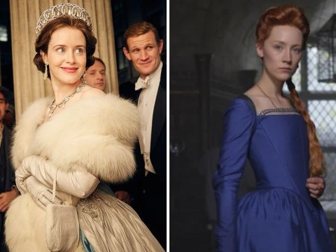 Saoirse Ronan fangirls over Claire Foy as two 'queens' film in same location for historic films