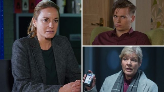 Mel and Hunter fear the worst when the police call in EastEnders
