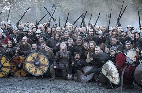Katheryn Winnick reveals huge behind-the-scenes photo after epic Vikings season 5B finale