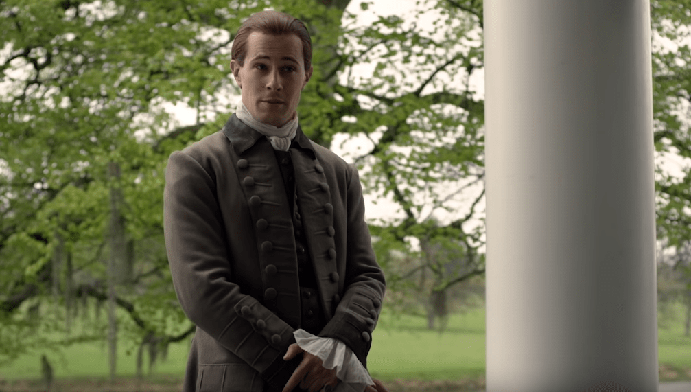 David Berry is Lord John Grey in Outlander S4